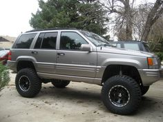 Page Lifted ZJ's and WJ's Picture Thread Grand Cherokee General Discussion 1999 Jeep Grand Cherokee, Cherokee Limited, Jeep Zj, Ford Maverick, Cool Jeeps, Custom Trucks, My Ride, Car Stuff, Nissan
