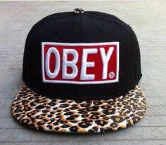 Snap back OBEY hat on Etsy, $27.00