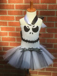 Jack Skellington Costume Jack Skellington Dress by ChachaTutu