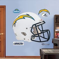 San Diego Chargers 2012 Helmet