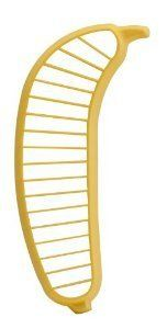 571 Banana Slicer by Hutzler. Slice your banana with one quick motion + it looks adorable on display in your kitchen.