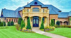"""Fort Worth, Texas Mansion. It's safe to say I've upgraded my """"this is my dream (house)"""" standards. Barbie's Malbiu Dream House fails in comparison."""