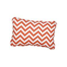 Stella Chevron Indoor/Outdoor Lumbar Pillow