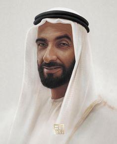 Zayed bin Sultan Al Nahyan. Por: elygraf