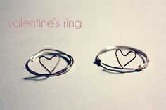 diy heart shaped ring maedchenmitherz1