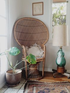 Vintage Peacock Chair boho style wicker local by ethanollie, $79.00 @Rosemary F.L. Gran