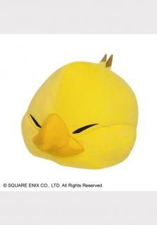 Final Fantasy XIV Fat Chocobo hooded blanket Official Fat Chocobo ver NEW JAPAN