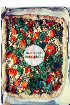 Milk and Honey: Zucchini and Feta Pissaladiere