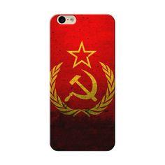 iPhone 6 Grunge Flag Of The Soviet Union Case