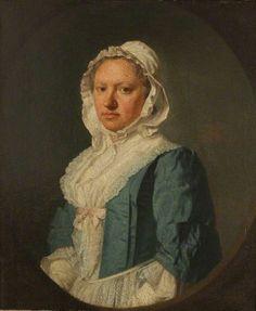 """Mrs Abigail Ward"", Allan Ramsay, 1749; Warwickshire Museum Service 1974/44"
