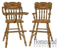 Sunrise Youth/High Chair. http://www.homesteadfurnitureonline.com/youth-furniture_sunrise-high-chair-686.html