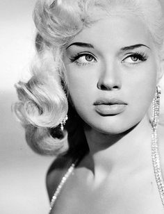 Diana Dors. English Vintage Actress. Screen Siren. Sex Symbol