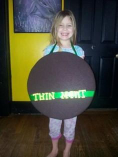 Thin mint sandwich board for Girl Scout Cookie booths by desiree