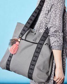Taske med forlomme