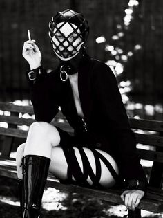 This powerful and racy editorial for Interview Magazine has incredible strenth, once again shot by Mert and Marcus and featuring Saskia de Brauw.