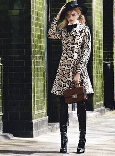 American Vogue - Mod Goddess  Editorial Credits:  Mario Testino - Photographer Grace Coddington - Fashion Editor/Stylist Michael Philouze - Fashion Editor/Stylist Didier Malige - Hair Stylist Linda Cantello - Makeup Artist Cara Delevingne - Model