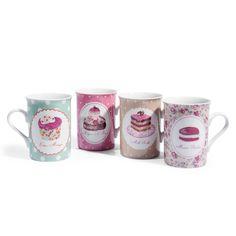 Assortiment de 8 mugs Cupcake MAISON DU MONDE