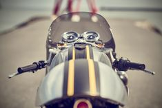 Barbour International Triumph Thruxton R by Down & Out Cafe Racers