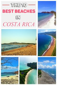 The 10 most beautiful and the best beaches in Costa Rica that has to be on every travelers list! mytanfeet.com/...