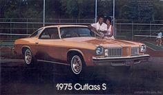 1975 Oldsmobile Cutlass Salon.  I had a 1979 Cutlass Supreme