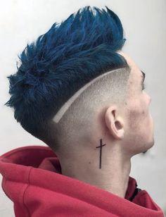 Hairstyles Men Undercut Hair Designs New Ideas - Hairstyles Men - # Trending Haircuts, Cool Haircuts, Haircuts For Men, Hairstyles Haircuts, Curly Hair Styles, Hair And Beard Styles, Mens Hair Colour, Cool Hair Color, Undercut Hairstyles