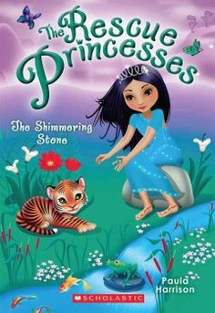 J SERIES RESCUE PRINCESSES. In the kingdom of Kamala, Princess Amina is excited her fellow Rescue Princesses are visiting for her cousin's wedding. When a wounded tiger is discovered, she knows the cubs can't survive without their mother. The Rescue Princesses must find them, royal wedding or no royal wedding!