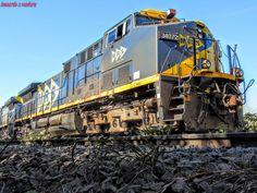 Locomotiva GE AC 44i 3407-2 da MRS em CORDEIRÓPOLIS/SP