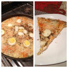 Ingredientes     8ovos (3 ovos inteiros + 3 claras de ovo + 2 claras cozidas)    1 lata de atum natural light (não pode ser em óleo)...