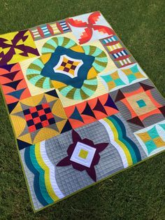 Sew Kind Of Wonderful Curve  It Up pattern - made uniquely - I absolutely love this quilt! !!!