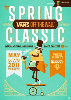 Vans Off The Wall Spring Classic 2 - Mauro Gatti's House of Fun