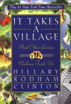 Moral corruption: it takes a village [Hillary Clinton's book] http://220lily.wordpress.com/2013/08/06/moral-corruption-it-takes-a-village/