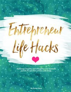 Are you overwhelmed and stressed out as an entrepreneur? Don't fret - I can help! In Entrepreneur Life Hacks, I'll give you tons of actionable tips and advice to put your business's marketing on autopilot, streamline your client intake or sales systems (if applicable), and stop spending so much time working IN your business so you can finally work ON your business and grow your online empire.
