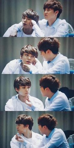 Seungkwan [승관] and Vernon [버논] // VerKwan Woozi, Mingyu Wonwoo, Seventeen Memes, Seventeen Debut, Fanfiction, Namjin, Wattpad, Yoonmin, Diecisiete Memes