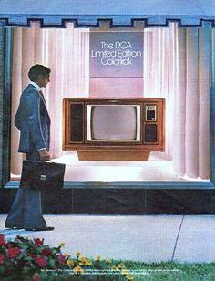 1979 RCA Color Television