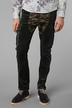 Oxford Lads Camo Block Cargo Pant Online Only