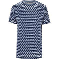versace t shirt bleu