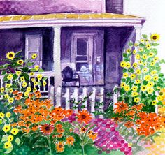 WCM house--a piece of history  Original art and prints available  from $27 1-deborah-burow.artistwebsites.com