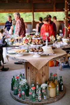festive finds by Event Finds: Vintage Texas Country Wedding