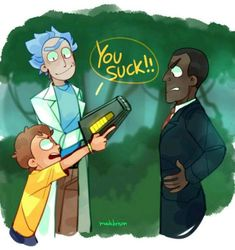 images Rickorty, Rick-Cest, Rick and Morty - RICK AND MORTY - here I showed images of the Rick and Morty series, these will be about the navig - Rick And Morty Comic, Rick Und Morty, Cartoon Crossovers, Cartoon Characters, Cartoon Art, Pink Floyd, Ricky Y Morty, Desenhos Halloween, Rick And Morty Season
