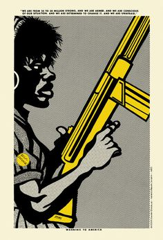 "Emory Douglas - ""Warning to America"""