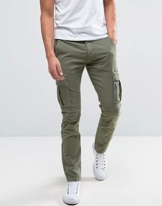 819bf5ea31a29 Selected Homme Slim Fit Cargo Pant Cargo Pants Outfit Men
