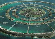 According to a German researcher, the legendary Lost City Of Atlantis was located off the Moroccan Coast. Atlantis did not sink into the city but was wiped Atlantis, Fantasy City, Fantasy World, Ancient Aliens, Ancient History, Terre Plate, Sunken City, Bermuda Triangle, New Earth