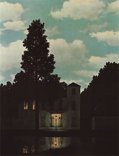 Renee Magritte. El imperio de las luces. 1954