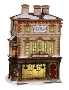 Amazon.com: Department 56 Dickens Village H Smythe, Publisher: Home & Kitchen