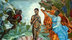 Birth of Oshun, Harmonia Rosales.