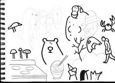 Cuaderno de bocetos 13