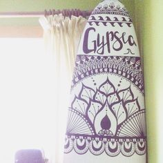 This is my Surfboard art mandala doodle, it's my summer DIY project!