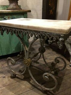 Beautiful Love Love LOVE This Patisserie Table!!! One Day I Will Find One.