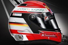 Vettel Ferrari Helmet
