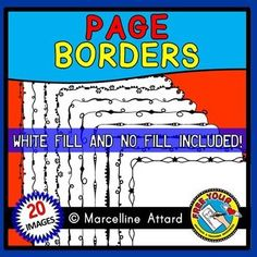 20 #doodle #borders: #page borders